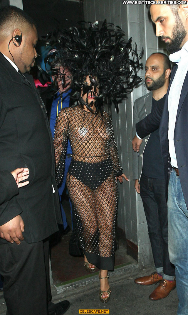 Lady Gaga No Source Pasties Posing Hot Gag Fishnet Beautiful Toples