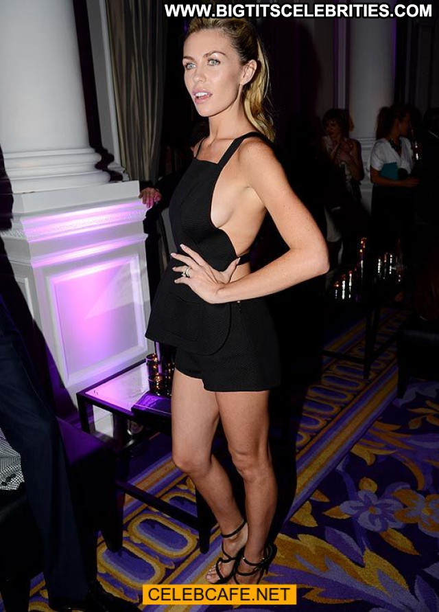 Abigail Clancy No Source Babe Titslip Tits Posing Hot Celebrity