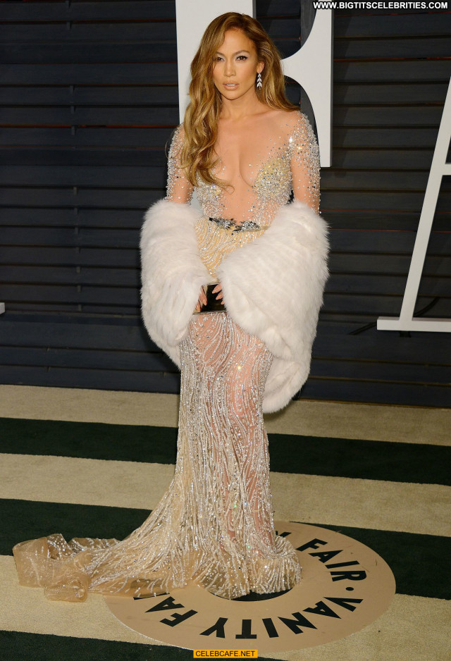 Jennifer Lopez Vanity Fair Babe Posing Hot Sex Party Cleavage