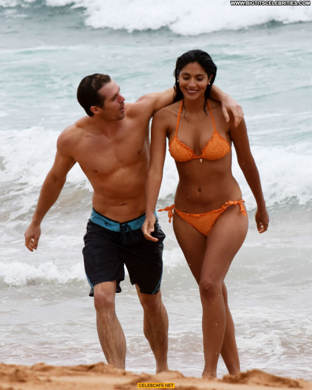 Pia Miller No Source Beach Australia Bikini Beautiful Sexy Orange