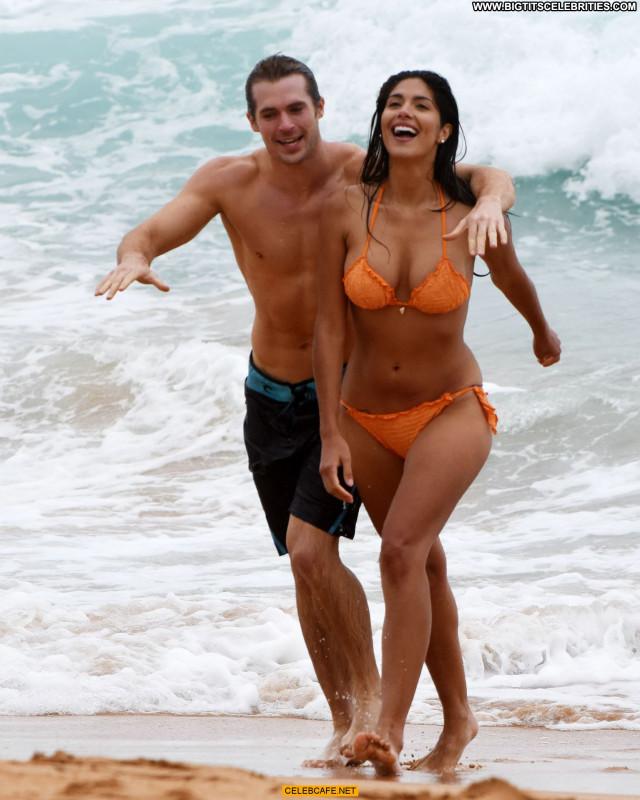 Pia Miller No Source Posing Hot Orange Beautiful Beach Babe Sex Sexy