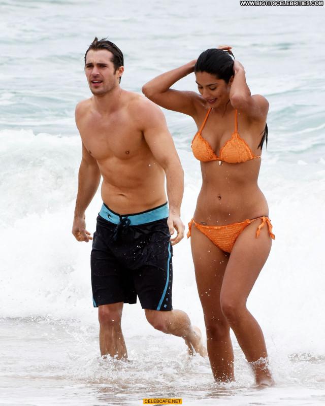 Pia Miller No Source Beautiful Orange Babe Celebrity Sex Beach Bikini