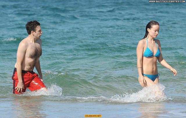 Olivia Wilde No Source Babe Wild Beautiful Celebrity Bikini Beach