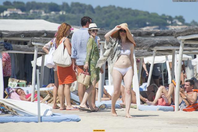 Melissa George No Source Bikini Beach Posing Hot Babe Beautiful