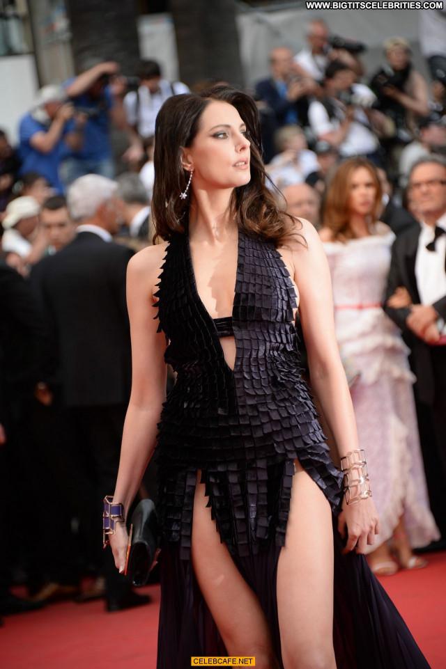 Frederique Bel Cannes Film Festival Posing Hot Babe Celebrity