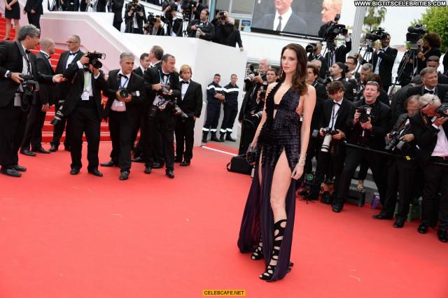 Frederique Bel Cannes Film Festival Celebrity Posing Hot Babe
