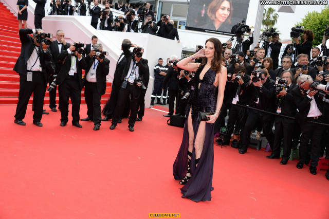 Frederique Bel Cannes Film Festival Posing Hot Babe Beautiful