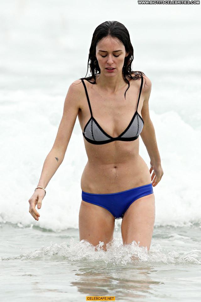 Nicole Trunfio No Source Posing Hot Celebrity Babe Beautiful Bikini