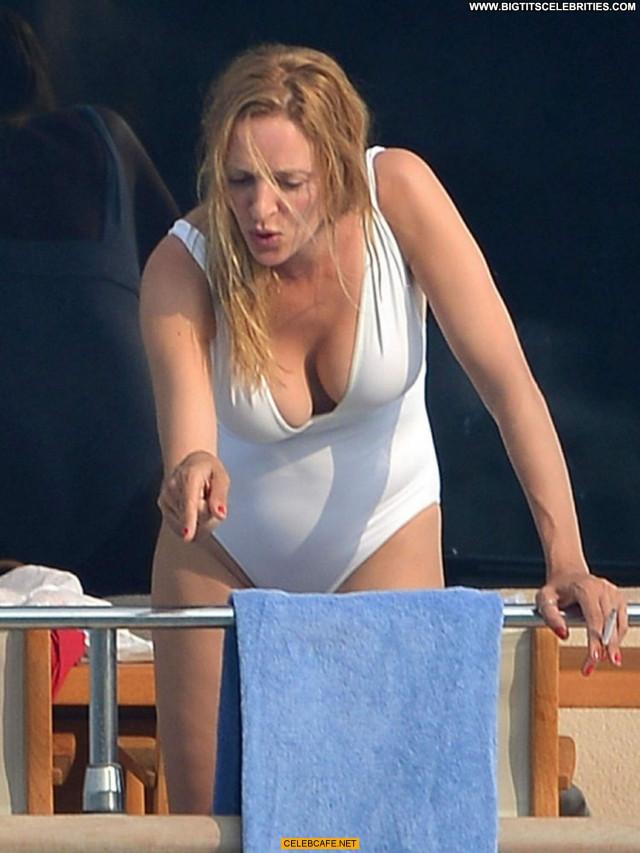 Uma Thurman No Source Celebrity Posing Hot Beautiful Babe Saint