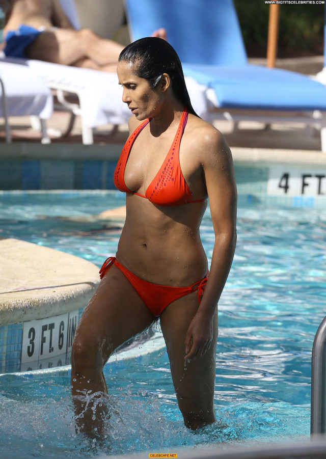 Padma Lakshmi No Source Bikini Nipples Beautiful Hard Nipples