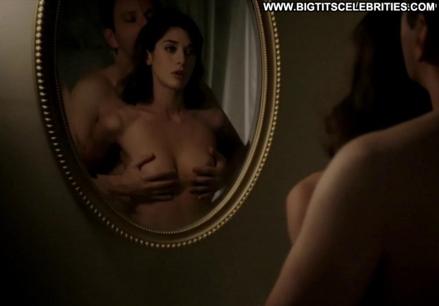 Lizzy Caplan Masters Of Sex Posing Hot Beautiful Breasts Babe Massage