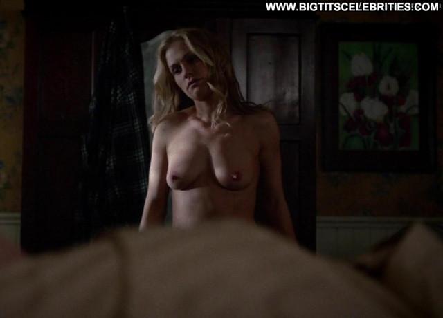 Anna Paquin True Blood Babe Beautiful Bed Breasts Big Tits Sea