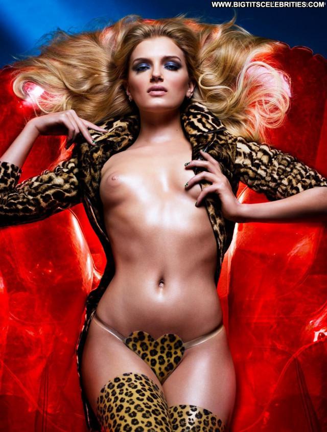Natasha Poly V Magazine See Through Topless Toples Magazine Model
