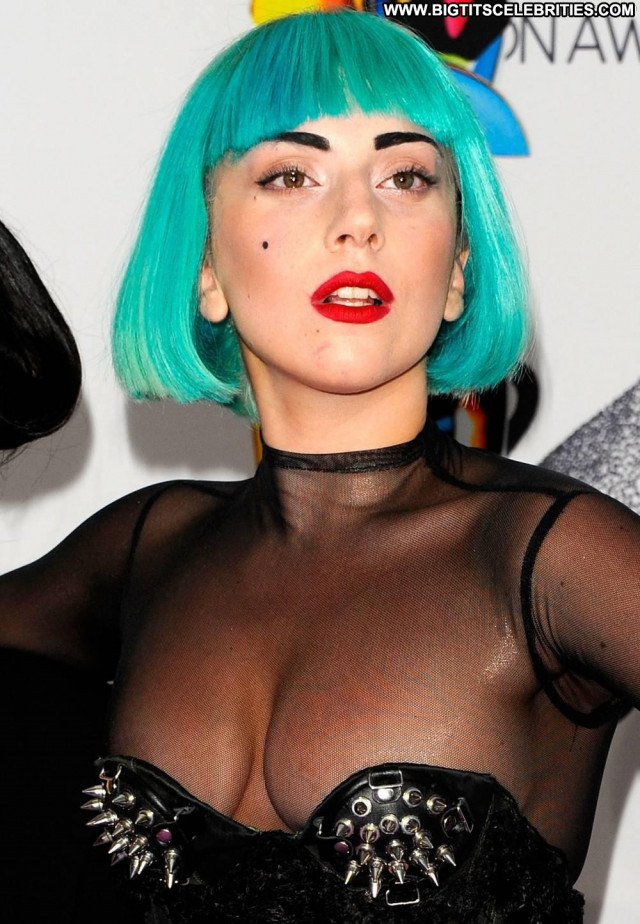 Lady Gaga No Source Bar Awards Bra Nice Pretty Celebrity Beautiful