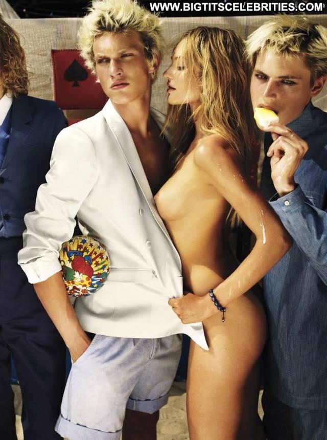 Candice Swanepoel The Fall Celebrity Magazine Posing Hot Babe