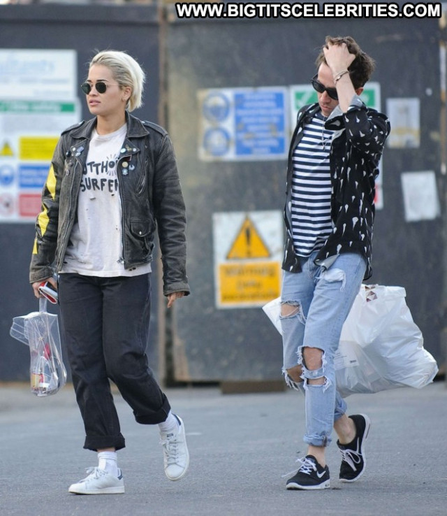Rita Ora No Source  Celebrity Babe Paparazzi London Beautiful Posing