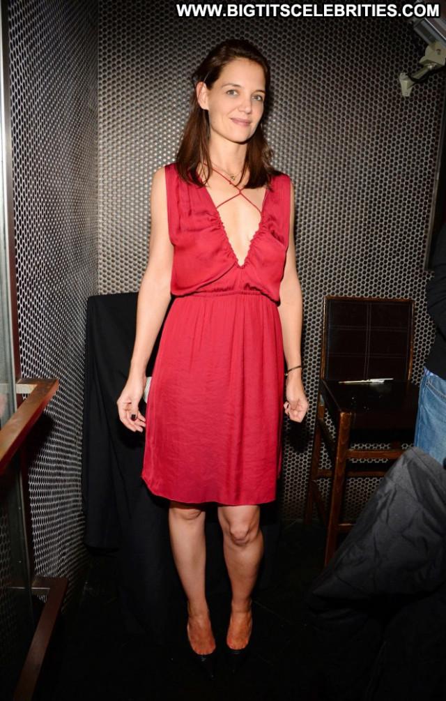 Katie Holmes No Source Beautiful Birthday Posing Hot Paparazzi