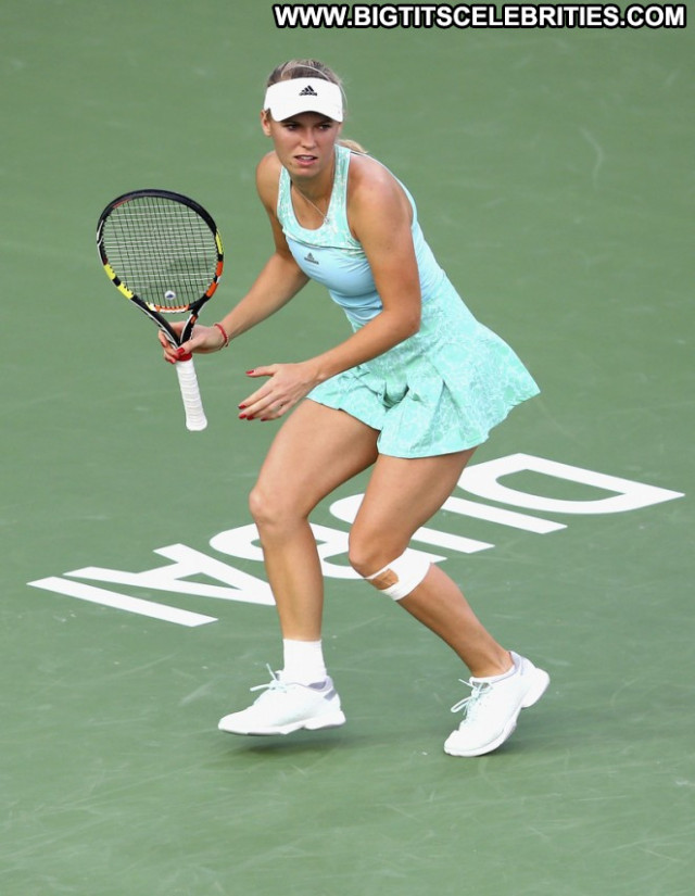 Caroline Wozniacki No Source Celebrity Tennis Beautiful Posing Hot