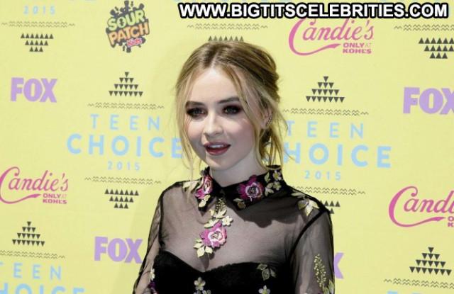 Sabrina Carpenter No Source Celebrity Car Teen Babe Posing Hot