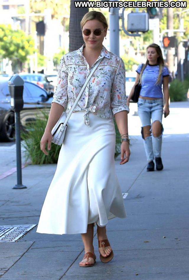 Abbie Cornish Beverly Hills Posing Hot Paparazzi Celebrity Beautiful