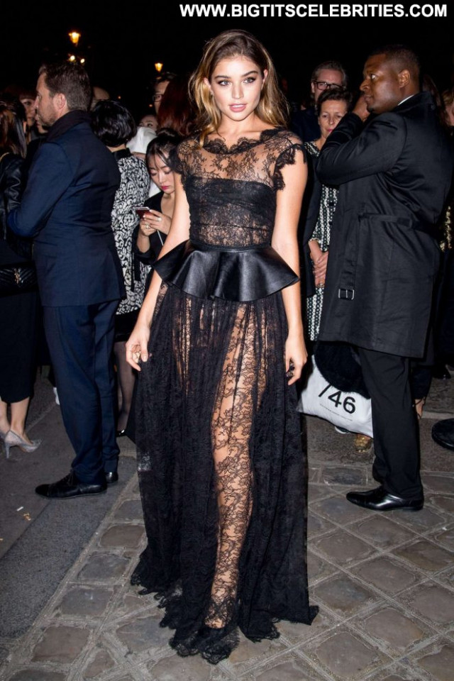 Daniela Lopez Celebrity Beautiful Party Paparazzi Posing Hot Paris