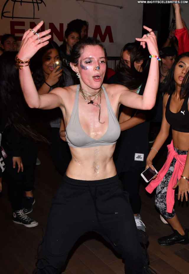 Bella Thorne Studio City Celebrity Posing Hot Babe Beautiful Dancing