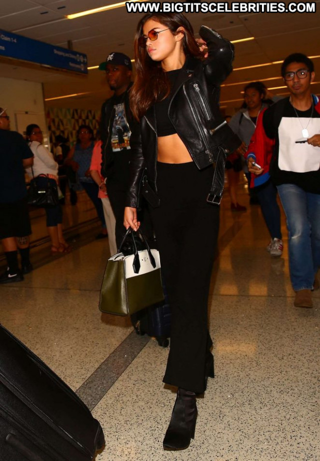 Selena Gomez Lax Airport Beautiful Angel Babe Lax Airport Los Angeles