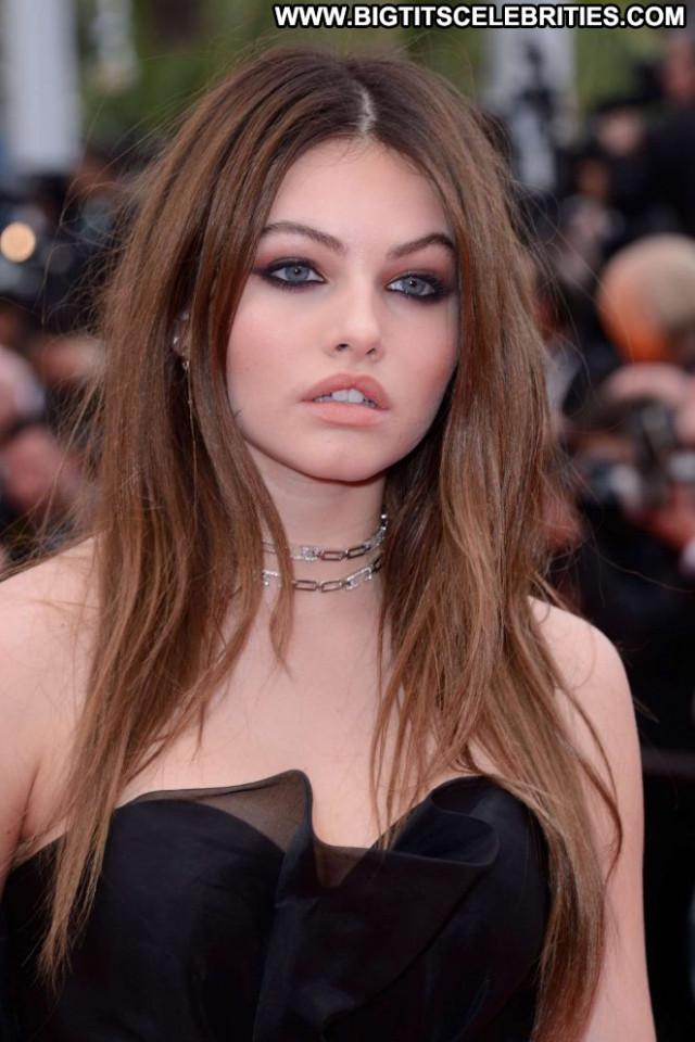 Thylane Blondeau Cannes Film Festival Angel Posing Hot Celebrity