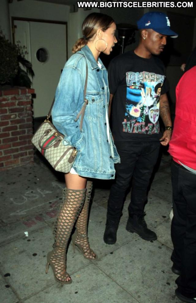 Tinashe West Hollywood  Babe Posing Hot Paparazzi Hollywood West