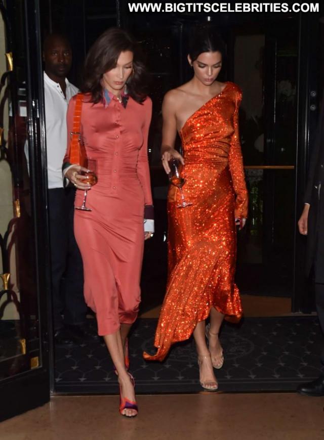 Kendall Jenner No Source Paparazzi Hotel Posing Hot Paris Hot Babe