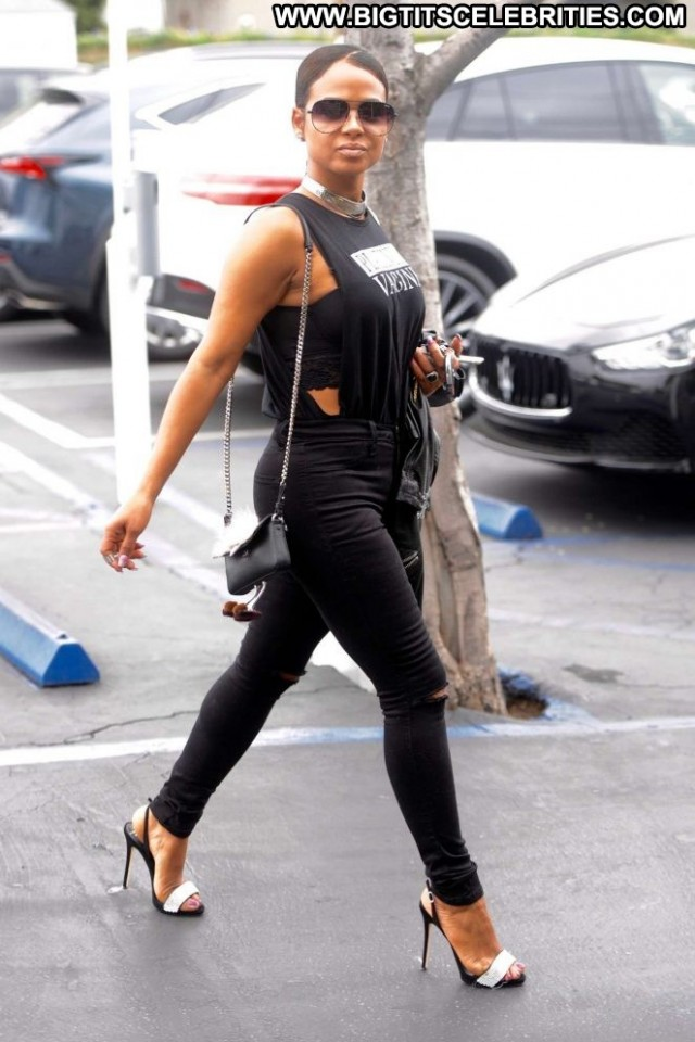 Christina Milian Los Angeles Celebrity Beautiful Los Angeles Posing