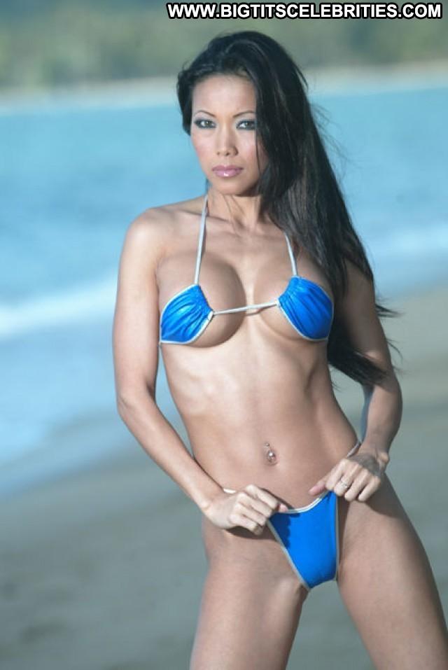 Teanna Kai Photo Shoot Singapore Posing Hot American Sexy Model