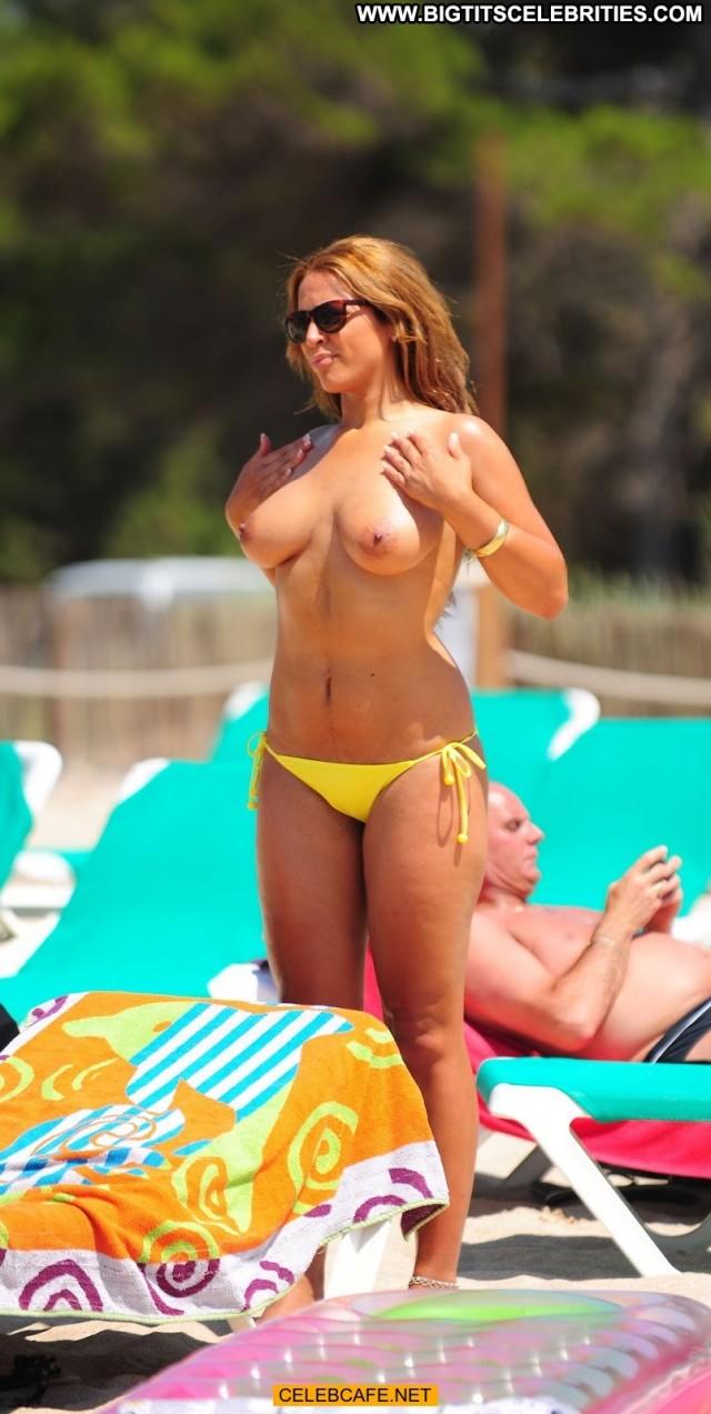 Rachael White Uk Big Brother Posing Hot Topless Paparazzi Babe Beach