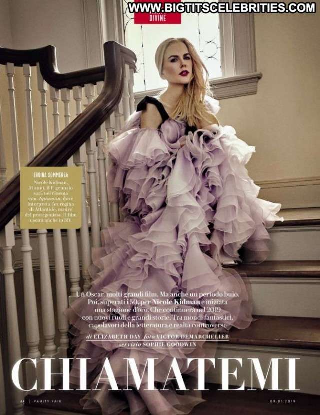 Nicole Kidman Vanity Fair Italy Beautiful Magazine Italy Babe