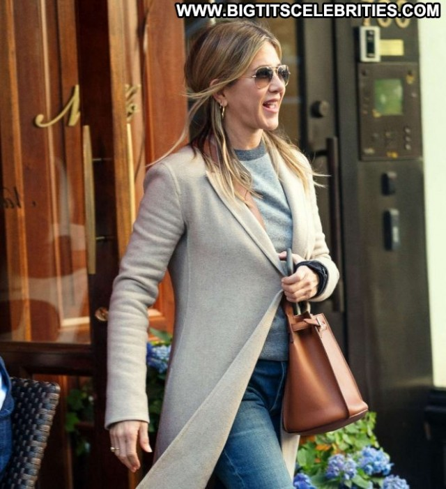 Jennifer Aniston New York Celebrity Babe Paparazzi New York