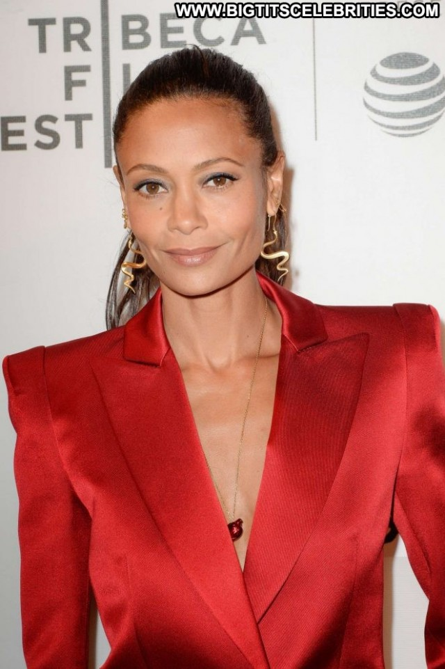 Thandie Newton Tribeca Film Festival Nyc Posing Hot Celebrity