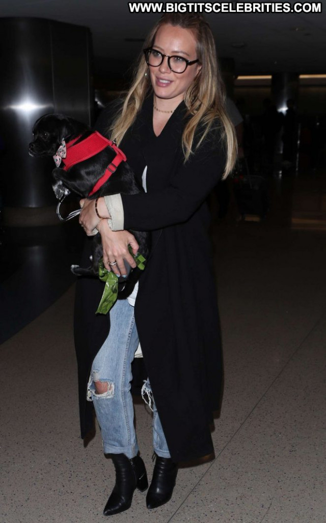 Hilary Duff Lax Airport Babe Beautiful Lax Airport Celebrity
