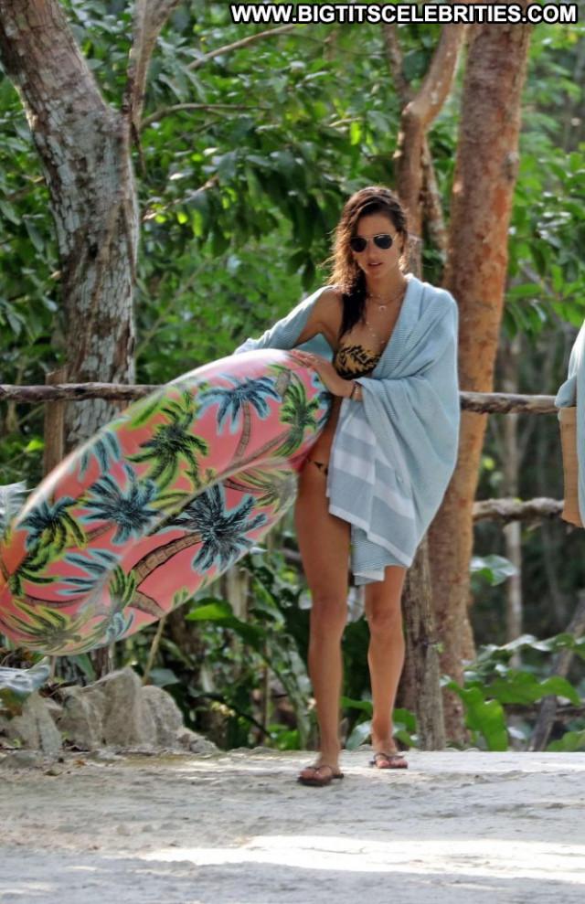 Bikini The Beach Celebrity Bikini Beautiful Mexico Beach Babe Posing