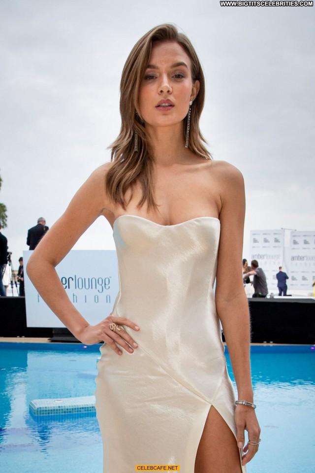 Josephine Skriver Fashion Show Fashion Babe Beautiful Nipple Slip