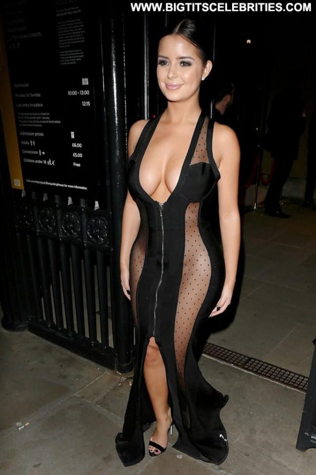 Demi Rose No Source  Posing Hot Uk Awards Celebrity Babe Cleavage